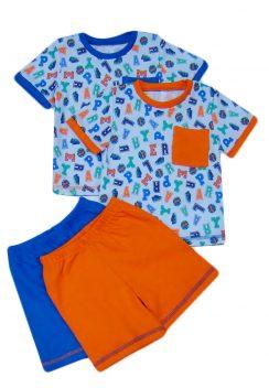 Костюм ясельный (футболка, шорты)